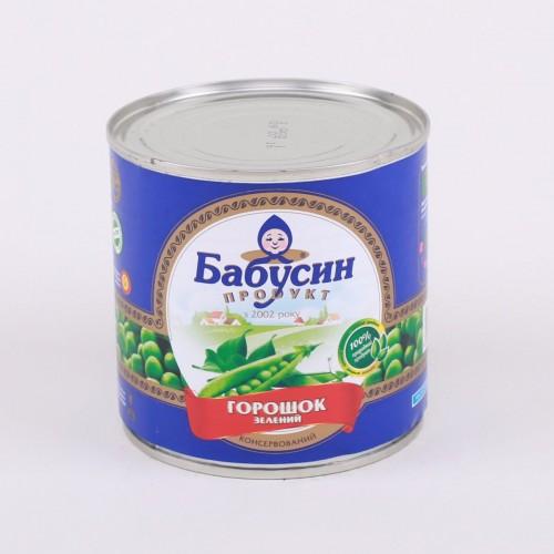 Горошек консервированный Бабусин продукт
