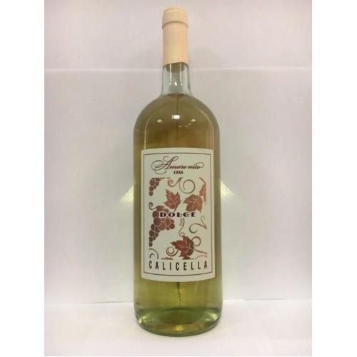Италия Вино белое полусладкое 1,5 л Amore Mio Calicella