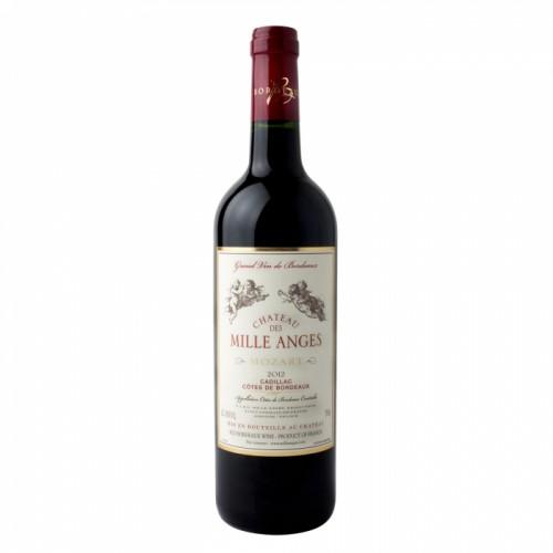 Франция Вино красное полусладкое 1,5 л Bordeaux Chateau des Mille Anges red semi sweet