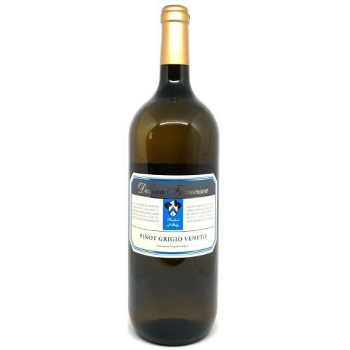 Италия Вино белое сухое 1,5л Donna Francesca Pinot Grigio Veneto