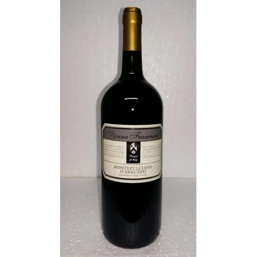 Италия Вино красное сухое 1,5л Donna Francesca Montepulciano D'Abruzzo