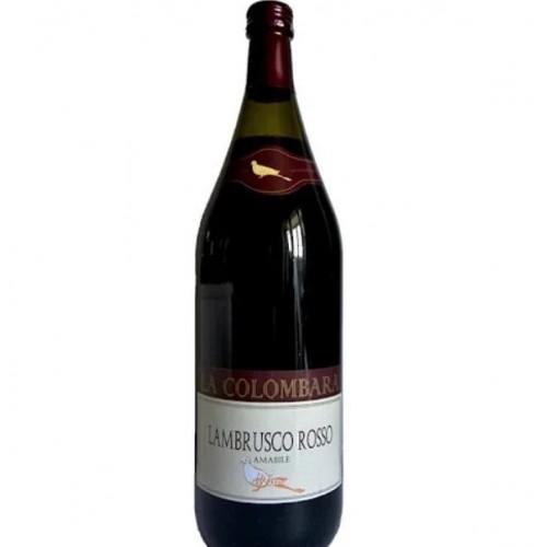 Италия Ламбруско игристое красное полусладкое 1,5л La Colombara Lambrusco Rosso Amabile